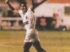 Macedo comemora seu gol contra o Grêmio.