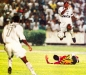 Capitão Narciso em ação contra o Sampaio Corrêa pela Conmebol. (24/09/1998)