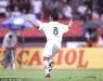 Renato marca gol na primeira partida da final contra o Corinthians.