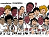 Charge campeões paulistas 1984-2006