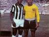 1962-01-07 - Barcelona 2 x 6 Santos - A segunda vez que Pele jogou em Guayaquil, em amistoso no estadio Modelo