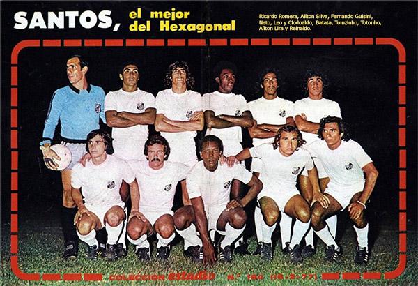 Santos Campeão ho Torneio Hexagonal do Chile (1977)